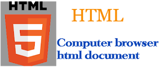 Computer browser HTML document kay hai