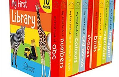 Boxset of 10 Board Books for Kids Board book