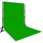 Hanumex Green BackDrop Background 8x12 Ft for Studio