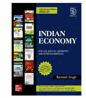 Indian Economy for Civil Services, Universities and Other Examinations | 12th Revised Edition Paperback – 18 July 2020