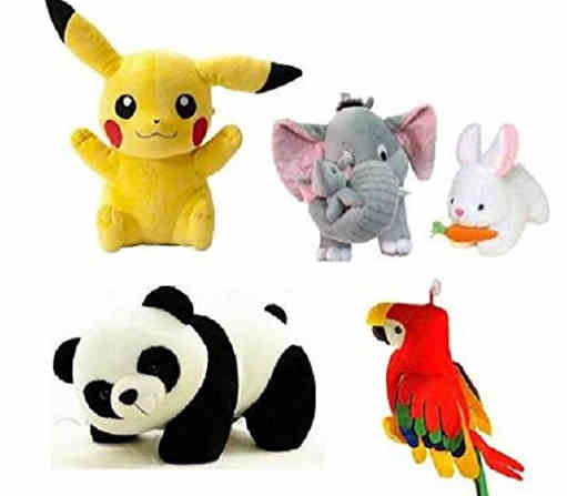 Saubhagye Stuffed Combo 5 pics animale Soft Toys Set